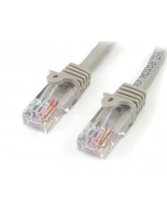 StarTech.com 45PAT5MGR verkkokaapeli Harmaa 5 m Cat5e U/UTP (UTP) Startech 45PAT5MGR - 1