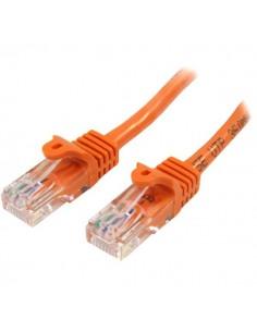 StarTech.com Cat5e Ethernet patchkabel med hakfria RJ45-kontakter - 7 m, Orange Startech 45PAT7MOR - 1