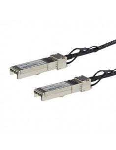 StarTech.com MSA Uncoded Compatible 5m 10G SFP+ to Direct Attach Breakout Cable Twinax - 10 GbE Copper DAC Gbps Low Power Starte