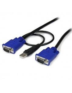 StarTech.com 15 ft 2-in-1 Ultra Thin USB Startech SVECONUS15 - 1