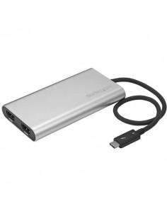 StarTech.com Thunderbolt 3 till dubbel HDMI-adapter - 4k 30 Hz endast kompatibel med Windows Startech TB32HD2 - 1
