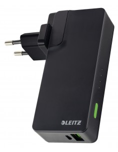 Leitz Complete USB seinälaturi ja Power Bank 3000 Kensington 63070095 - 1