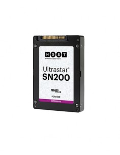 "Western Digital Ultrastar SN200 2.5"" 6400 GB PCI Express 3.0 MLC NVMe Hgst 0TS1317 - 1"