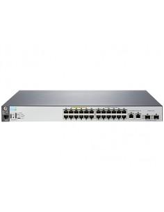 Hewlett Packard Enterprise Aruba 2530 24 PoE+ Hallittu L2 Fast Ethernet (10/100) Power over -tuki 1U Harmaa Hp J9779A#ABB - 1