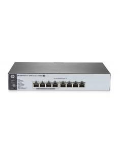 Hewlett Packard Enterprise OfficeConnect 1820 8G PoE+ (65W) hanterad L2 Gigabit Ethernet (10/100/1000) Strömförsörjning via Hp J