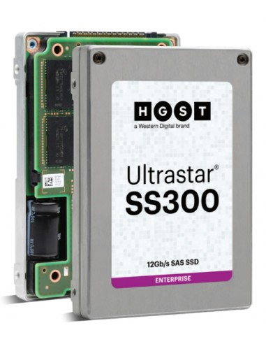 "Western Digital Ultrastar SS300 2.5"" 480 GB SAS 3D TLC Western Digital 0B34975 - 1"