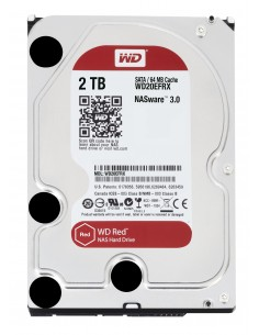 "Western Digital Red 3.5"" 2000 GB Serial ATA III Western Digital WD20EFRX - 1"