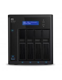 Western Digital My Cloud PR4100 NAS Työpöytä Ethernet LAN Musta N3710 Western Digital WDBNFA0320KBK-EESN - 1
