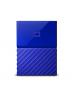 Western Digital My Passport external hard drive 2000 GB Blue Western Digital WDBS4B0020BBL-EEEX - 1