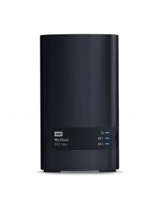 Western Digital My Cloud EX2 Ultra NAS Työpöytä Ethernet LAN Musta Armada 385 Western Digital WDBVBZ0000NCH-EESN - 1