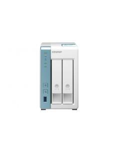 QNAP TS-231K NAS/storage server Tower Ethernet LAN White Alpine AL-214 Qnap TS-231K - 1