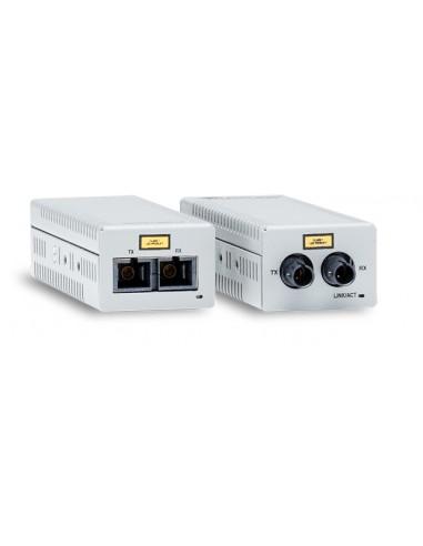 Allied Telesis AT-DMC100/LC-00 mediakonverterare för nätverk 100 Mbit/s 1310 nm Flerläge Grå Allied Telesis AT-DMC100/LC-00 - 1