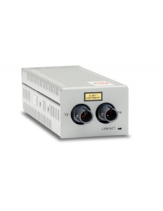 Allied Telesis AT-DMC100/ST mediakonverterare för nätverk 100 Mbit/s 1310 nm Flerläge Grå Allied Telesis AT-DMC100/ST - 1