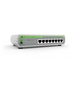 Allied Telesis FS710/8 Ohanterad Fast Ethernet (10/100) Grön, Grå Allied Telesis AT-FS710/8-30 - 1