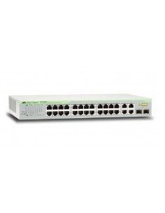 Allied Telesis AT-FS750/28-50 Managed Fast Ethernet (10/100) 1U Grey Allied Telesis AT-FS750/28-50 - 1