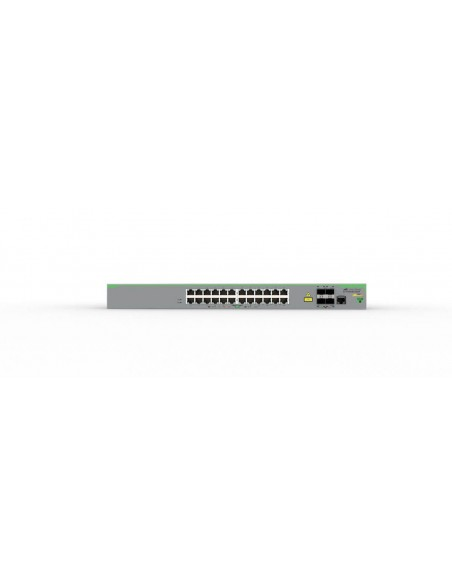 Allied Telesis AT-FS980M/28DP-50 Managed L3 Fast Ethernet (10/100) Power over (PoE) Grey Allied Telesis AT-FS980M/28DP-50 - 3