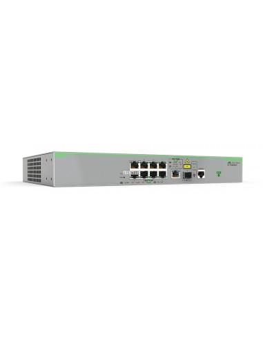 Allied Telesis AT-FS980M/9 Hallittu L3 Fast Ethernet (10/100) Harmaa Allied Telesis AT-FS980M/9-30 - 1