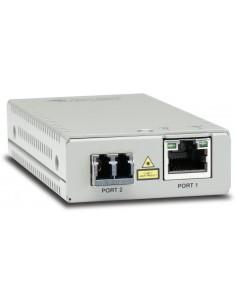 Allied Telesis AT-MMC200/LC verkon mediamuunnin 1310 nm Harmaa Allied Telesis AT-MMC200/LC-60 - 1
