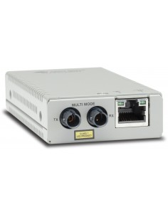 Allied Telesis AT-MMC200/ST-60 network media converter 100 Mbit/s 1310 nm Multi-mode Silver Allied Telesis AT-MMC200/ST-60 - 1