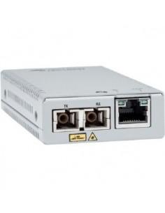 Allied Telesis AT-MMC2000/SC-960 mediakonverterare för nätverk 1000 Mbit/s 850 nm Flerläge Grå Allied Telesis AT-MMC2000/SC-960