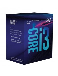 Intel Core i3-8350K suoritin 4 GHz 8 MB Smart Cache Intel BX80684I38350K - 1