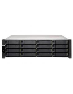 QNAP ES1686dc NAS Rack (3U) Ethernet LAN Black, Grey D-2145NT Qnap ES1686DC-2145NT-96G - 1