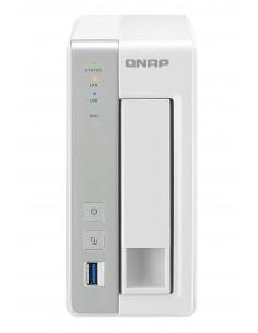 QNAP TS-131P NAS/storage server Tower Ethernet LAN Grey, White AL212 Qnap TS-131P - 1