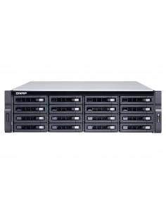 QNAP TS-1673U NAS Teline ( 3U ) Ethernet LAN Musta RX-421ND Qnap TS-1673U-8G - 1