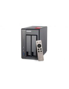 QNAP TS-251+ NAS Tower Ethernet LAN Harmaa Qnap TS-251+-8G - 1
