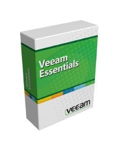 Veeam Backup Essentials Standard for VMware Förnyande Engelska Veeam V-ESSSTD-VS-P01AR-00 - 1