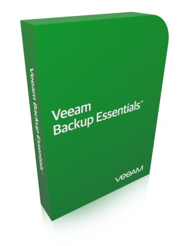 Veeam Backup Essentials Lisenssi Veeam V-VASSTD-VS-P0000-U5 - 1