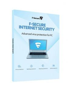 F-SECURE Internet Security Täysi lisenssi 1 vuosi/vuosia Monikielinen F-secure FCIPBR1N003E2 - 1