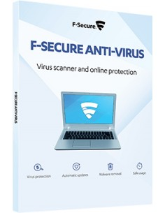 F-SECURE Anti-Virus f/ Windows Servers Englanti F-secure FCSWSN1EVXCIN - 1