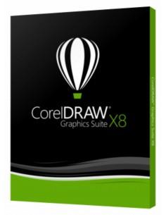 Corel CorelDRAW Graphics Suite X8 1 licens/-er Förnyande Flerspråkig Corel LCCDGSSUB15 - 1