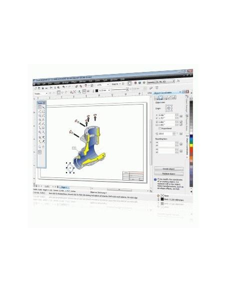 Corel Designer Technical Suite X4, 1-10u, Multi Corel LCCDTSX4MLPCA - 2