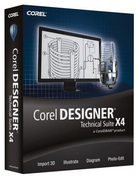 Corel Designer Technical Suite X4, 26-60u, Multi Corel LCCDTSX4MLPCC - 1