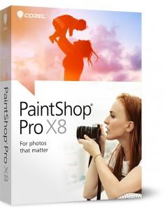 Corel PaintShop Pro X8, Corporate License, 2501U Monikielinen Corel LCPSPX8ML6 - 1