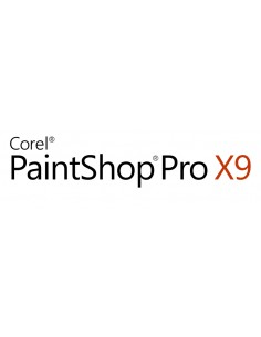 Corel PaintShop Pro X9 Education Edition License (5-50) Saksa, Hollanti, Englanti, Espanja, Ranska, Italia Corel LCPSPX9MLA2 - 1