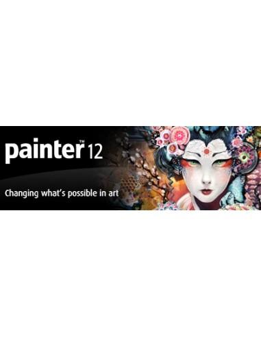 Corel Painter 12. UPG, 61-120u, ENG Päivitys Englanti Corel LCPTR12IEUGD - 1