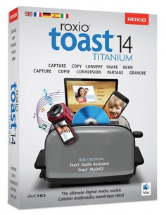 Corel Toast 14 Titanium, ML, 501-2500U, Mac Monikielinen Corel LCT14TML4 - 1