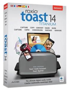 Corel Toast 14 Titanium, EDU, ML, 5-50U, Mac Monikielinen Corel LCT14TMLA1 - 1