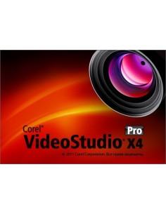 Corel VideoStudio Pro X4, 300+u, SUR, ML-1 Corel LCVSPRX4MLSTUC - 1