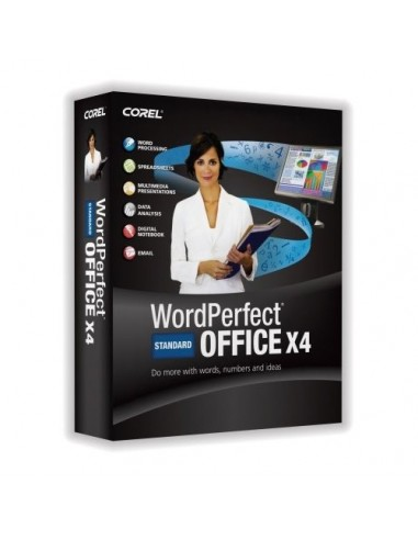 Corel WordPerfect Office X4 Standard, 1-10u, UPG, ML Corel LCWPX4MLUGA - 1