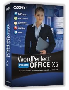 Corel WordPerfect Office X5 Standard, 11-25u, UPG, ENG Englanti Corel LCWPX5MLUGB - 1