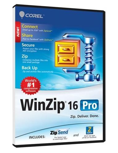 Corel WinZip 16 Pro, Win, 25000-49999u, UPG, ML Corel LCWZ16PROMLUGL - 1