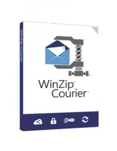 Corel WinZip Courier 9 10-24 lisenssi(t) Päivitys Monikielinen Corel LCWZCO9MLUGB - 1