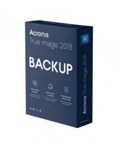 Acronis True Image 2018 1 licens/-er ESD (Electronic Software Download) Acronis Germany Gmbh THPASLLOS - 1