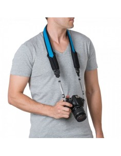 Pacsafe Carrysafe 75 GII strap Digital camera Spandex,Neoprene,Polypropylene (PP) Black,Blue Pacsafe 15259616 - 1