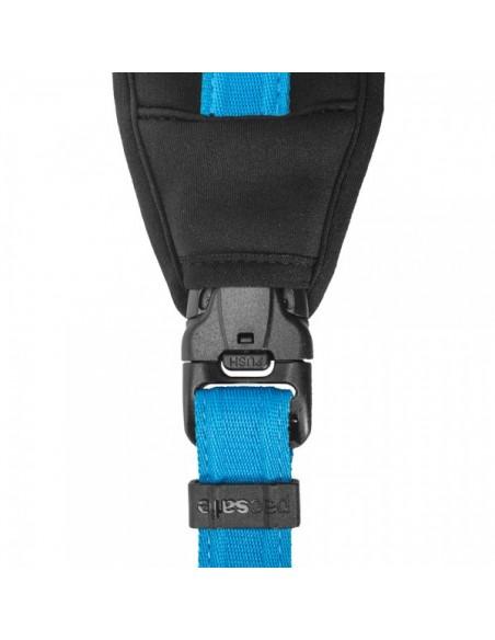 Pacsafe Carrysafe 150 hihna Digitaalikamera Neopreeninen, Polypropeeni (PP) Sininen Pacsafe 15281616 - 7