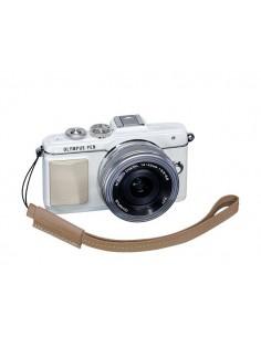 Olympus E0410189 strap Digital camera Leather Brown Olympus E0410189 - 1